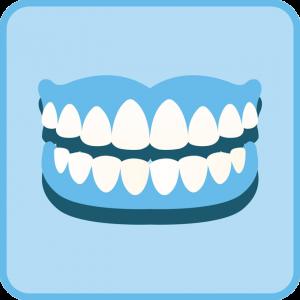 Pilna burna dantų po implantacijos